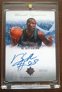 2007-08 Ultimate Collection Signatures #JE Al Jefferson /50 | by milkowski.pawel