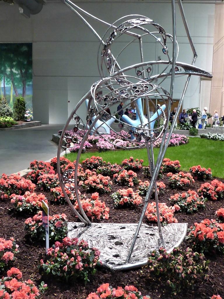 Chicago Navy Pier Chicago Flower Garden Show Metal Sc Flickr