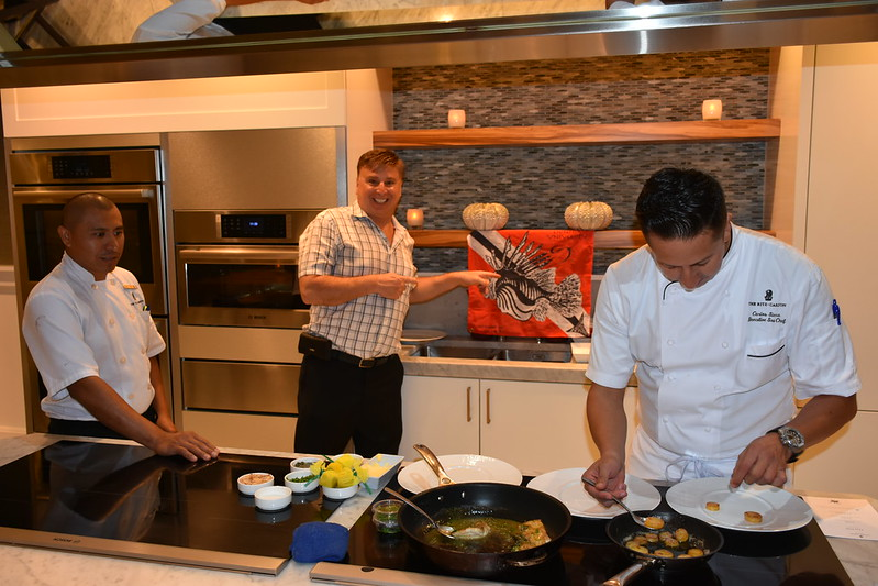 03-27-18  Photos Ritz Cooking Studio Lionfish  55