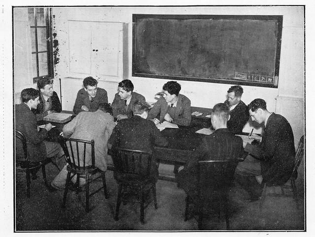 Farm Committee, April 1944: weekly meeting.