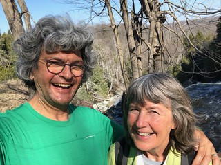Owen Sound Linda and Pierre at falls trail | by Pierre Yeremian