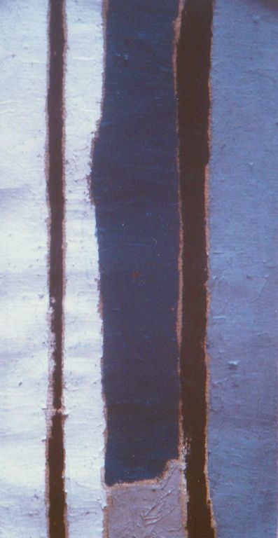 Porta IV - Oil on jute 1997