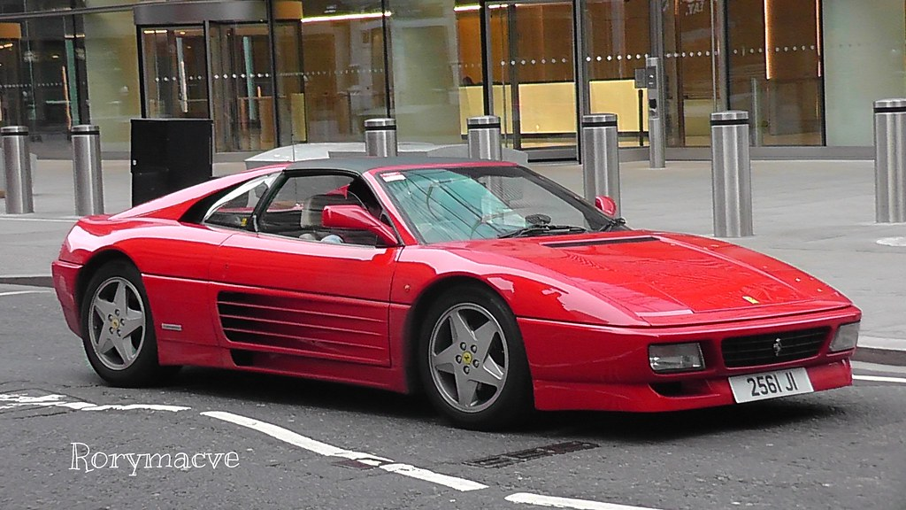 Ferrari 348ts In Order To Replace The Lovable 328 Of The L Flickr