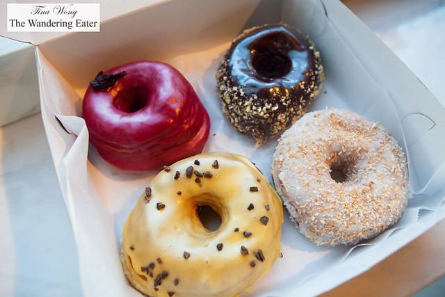 Our box of Dough Doughnuts