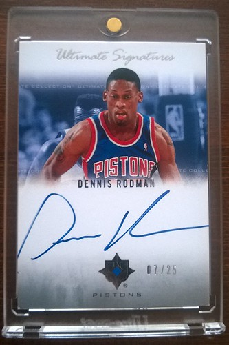 2007-08 Ultimate Collection Signatures #RO Dennis Rodman /25 | by milkowski.pawel