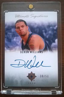 2007-08 Ultimate Collection Signatures #WI Deron Williams /50 | by milkowski.pawel