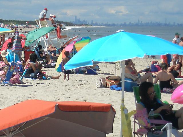 ... NYC at the beach !