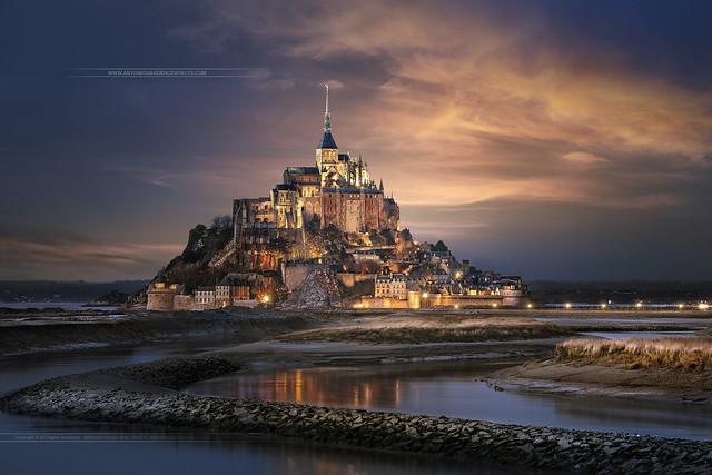 Mont Saint Michel / Normandy / France