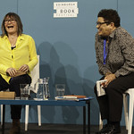 Ali Smith   Lots of laughter with Ali Smith and Jackie Kay © Robin Mair