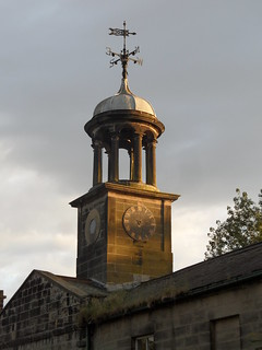 Roundhay Mansion stables clock