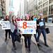 International Women's Day 2015- Stepping it up on the streets of New York City