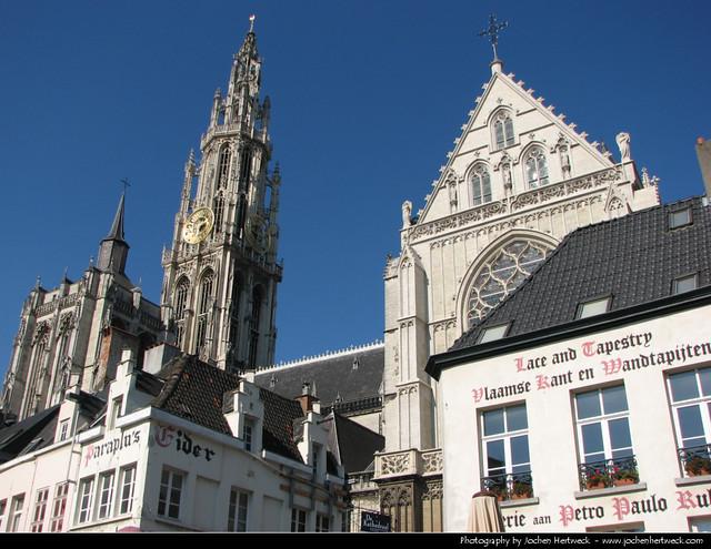 Onze-Lieve-Vrouwekathedraal, Antwerp, Belgium