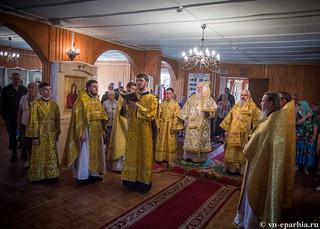 Божественная литургия в пос.Котово 220