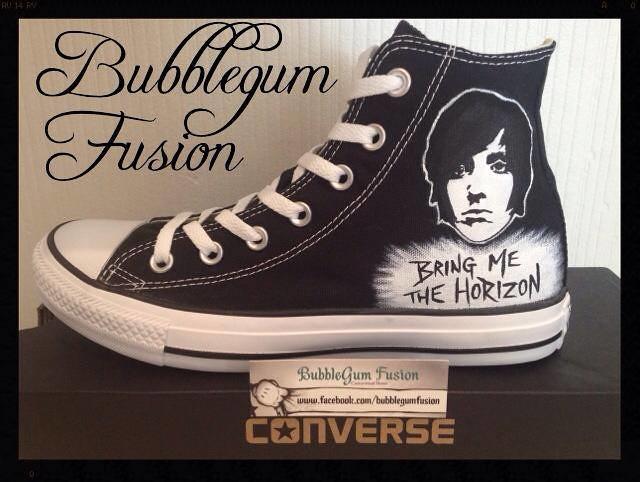 36144ad808b4 ... Bring me the horizon Converse