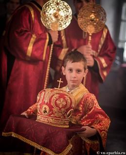 Литургия в храме Целителя Пантелеимона 250