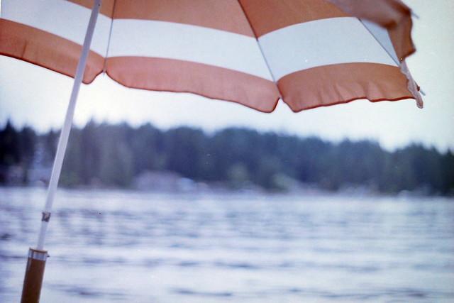 Boat umbrella