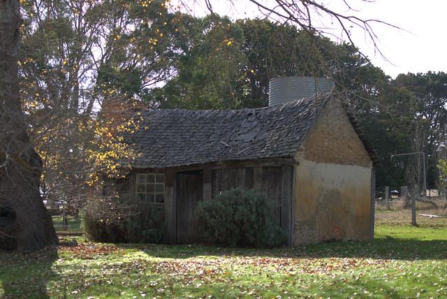 Old farm hut-Harrow, Vic.