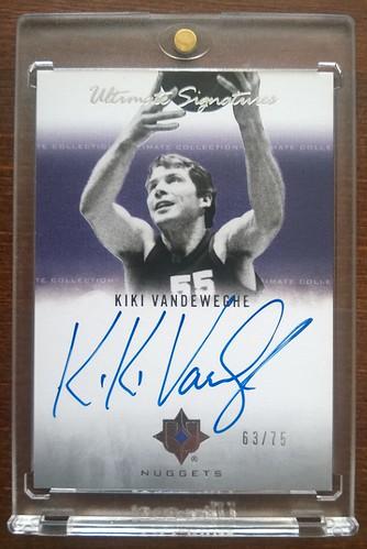2007-08 Ultimate Collection Signatures #KV Kiki Vandeweghe /75 | by milkowski.pawel