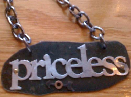 Priceless Pendant