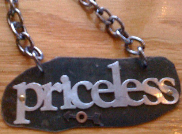 Priceless Pendant