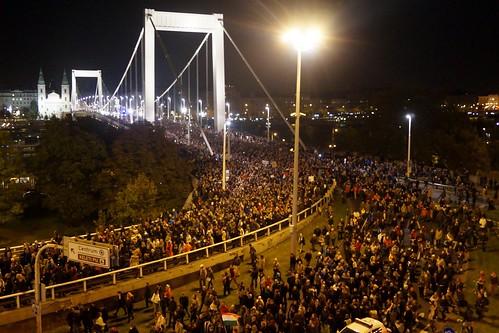 Budapest Hungary Demonstrations | by Ronan Shenhav