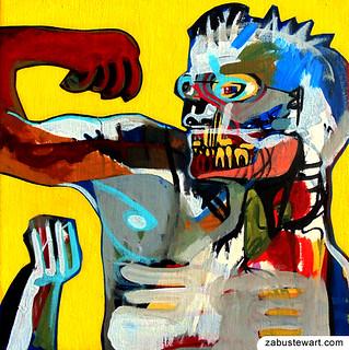 "Zabu Stewart - ""Leroy flexing his good arm"""