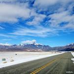 Snow雪・Road道・Mountains山・Sky空