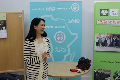 UNDP Goodwill Ambassador, Ms. Misako Konno's official visit to  Kenya for TICAD 6 | by UNDP Representation Office in Tokyo