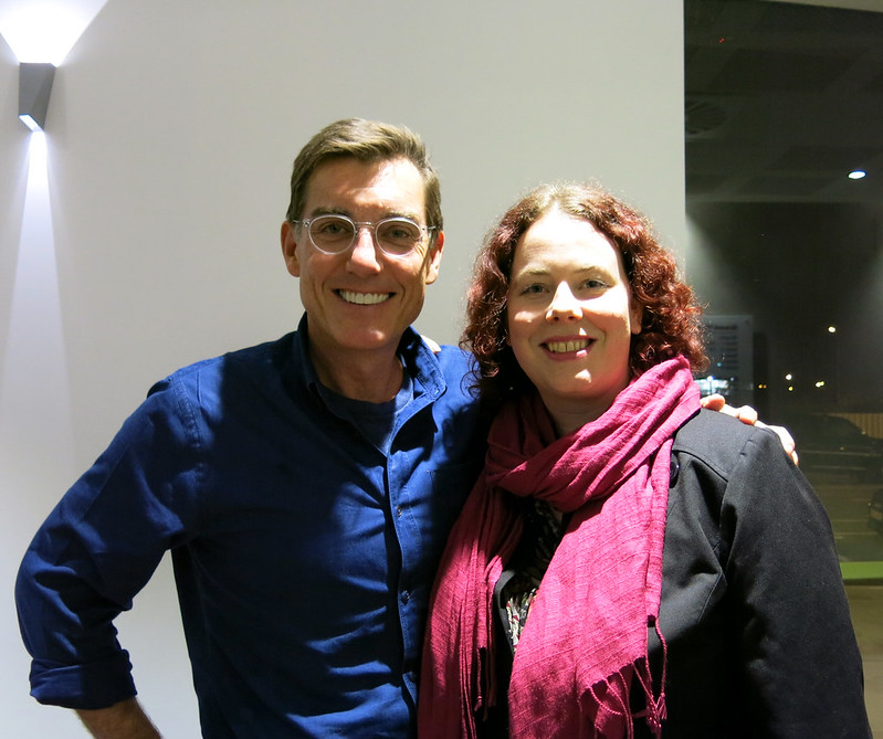 Justin Cronin and Karen Healey