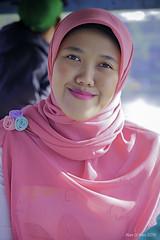 Diah at Situ Ciluenca, Bandung Selatan