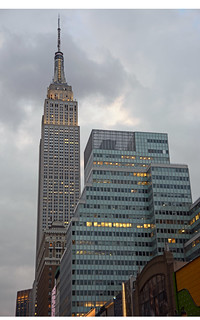 Picture Of the Empire State Building In New York City. Photo Taken Friday March 27, 2015