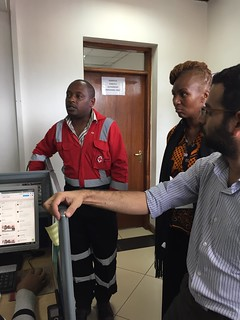Ushahidi and BRCK at The Kenya Red Cross. Learned so much, inspired... Kazi iendelee (work continues)