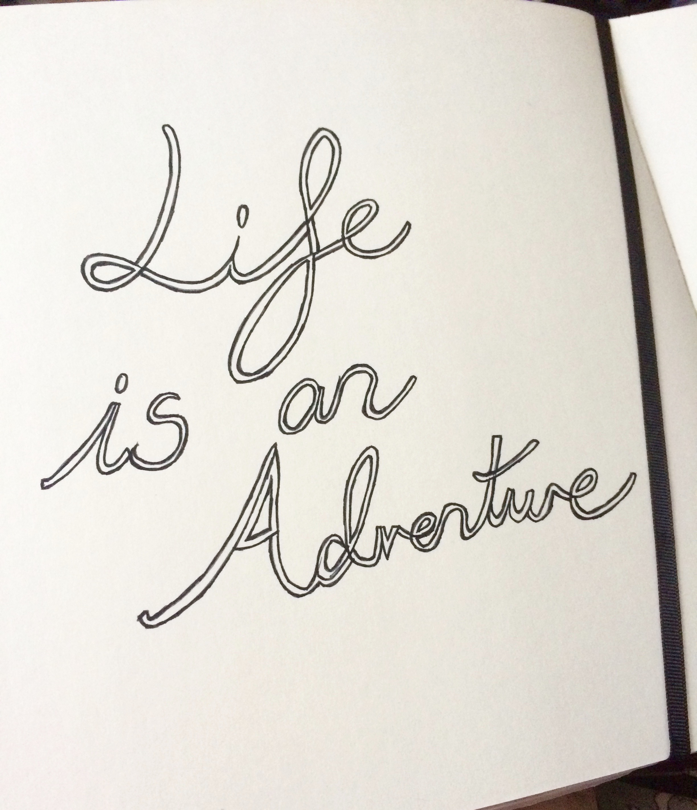 #BEDM Day 2: Life is an Adventure