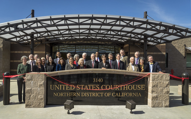 Judges of the United States District Court, Northern District of California • Opening Day, McKinleyville March 6, 2015