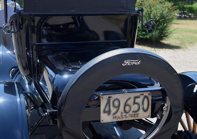 1922 Ford Model T Rear View