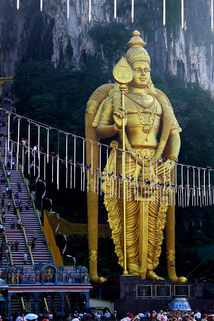 5464 Statue of Lord Murugan--Batu Caves , Malaysia