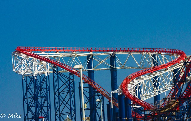 The heart shaped Rollercoaster