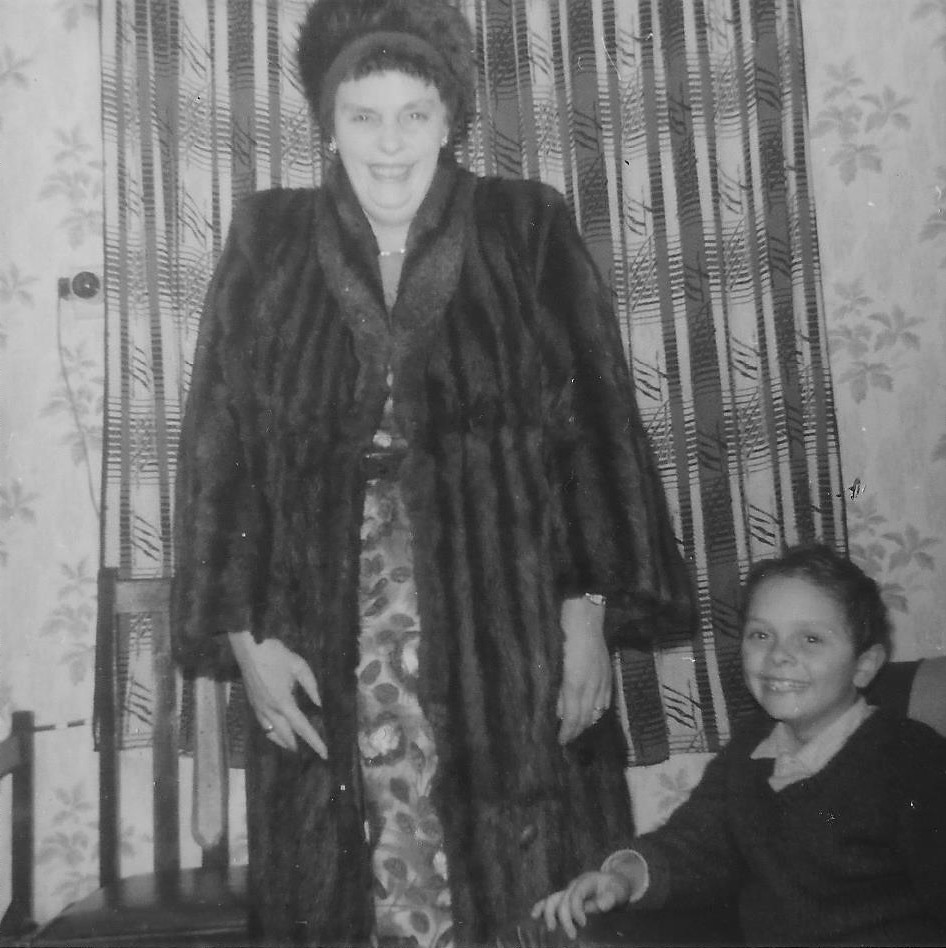 Mum & Clive Bowd. 108, Cheney Manor Road, Swindon. C. 1963