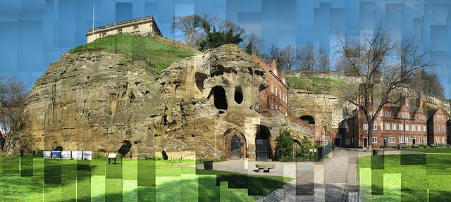 Nottingham Castle and Castle Rock