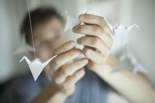Bird in his hands | by Ekaterina Ignatova