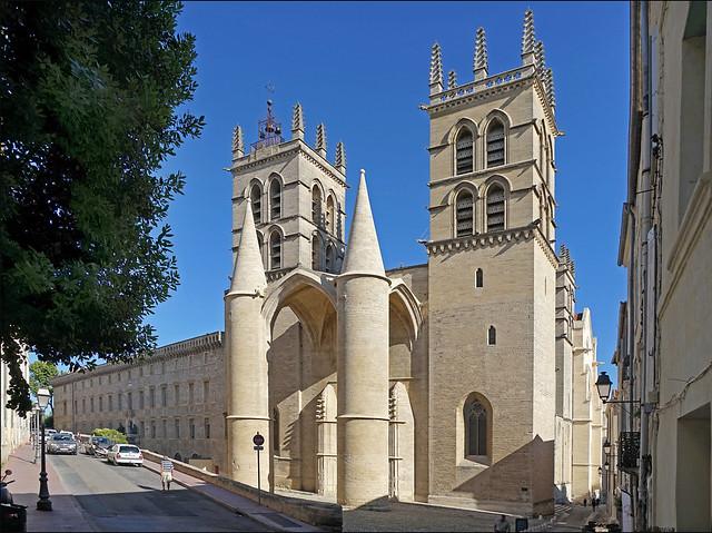 La basilique cathédrale Saint Pierre (Montpellier)