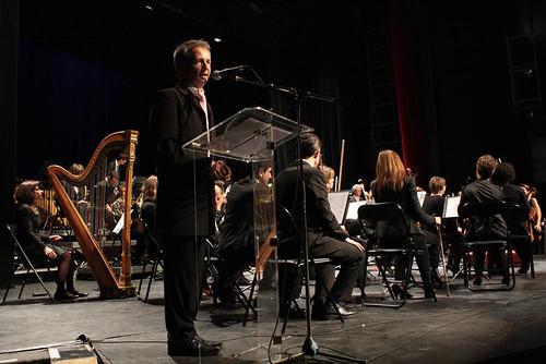 Concert présenté par Vincent à la Bourse 2013