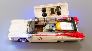 Lego Ghostbusters Ecto-1 Light Mod 16   by M600