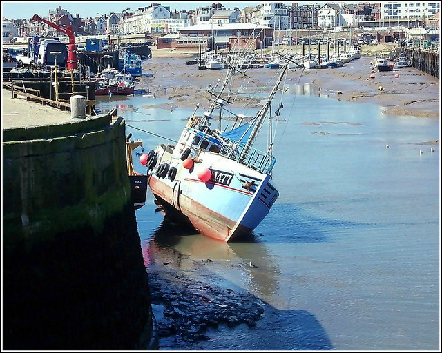 Exceptionally Low Tide ..