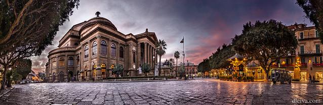 Teatro Massimo (opera de Palermo, Sicilia)