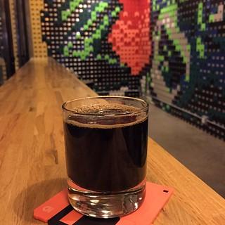 #kvpinmybelly Devil's Teeth at @ModernTimesBeer FlavorDome in #SanDiego North Park. So rich! Love the coffee flavor in this uber dark #beer. NOM! #beerlove   by queenkv