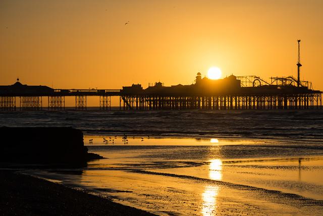 The pier rise
