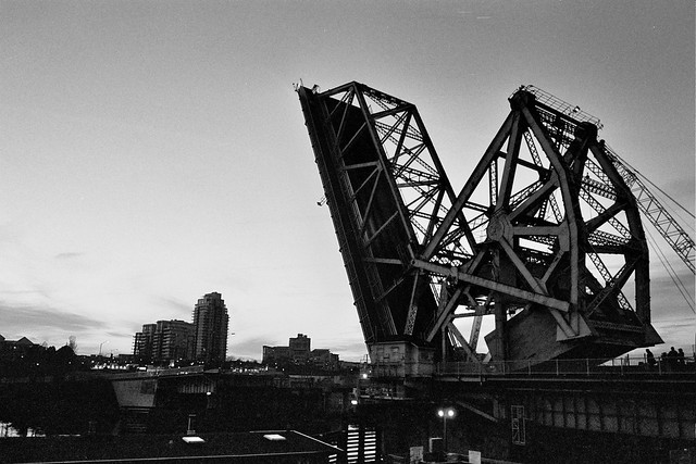 Blue Bridge Raised