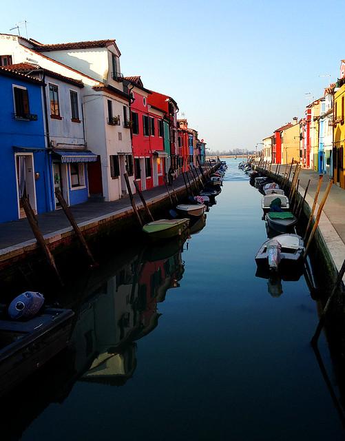 Canal à Burano