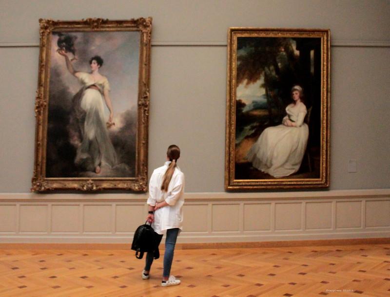 Ladies in White - Musee d'Art et d'Histoire de Geneve  #mahgeneve